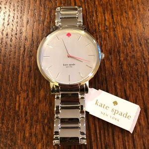 NIB Kate Spade Gramercy Stainless Steel Watch